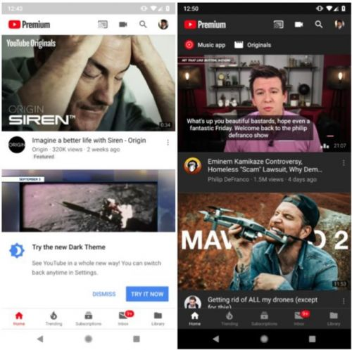 YouTube's Dark Mode Now Available To All Android Users