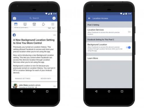 You can now block Facebook's background location tracking, here's how to do it