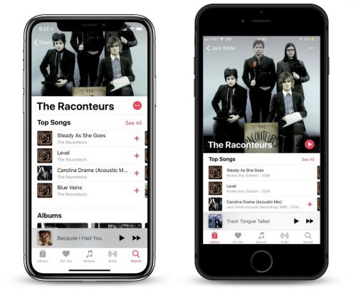 Apple Music Artist Profiles Get Redesign in iOS 12 Beta With Enlarged Portraits and Shuffle All 'Play' Button