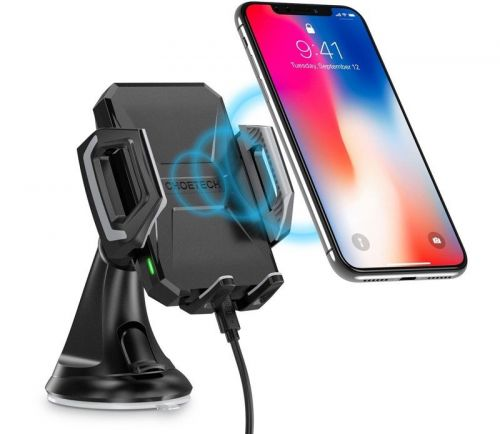 MacRumors Giveaway: Win a 7.5W Wireless Car Charger From Choetech
