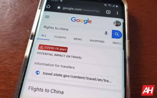 Google Offers Travel-Specific Coronavirus Alerts In Search