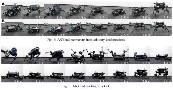 AI teaches 4-legged robots how to recover when they fall