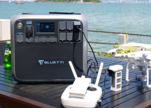 Bluetti AC200 portable 2000W power station with 1700Wh capacity $1,199