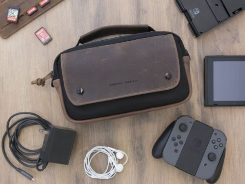This new Nintendo Switch case is perfect for carrying. well, everything