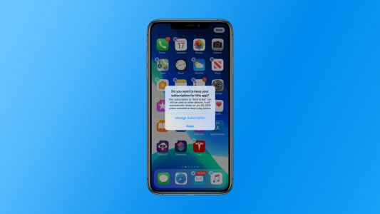 IOS 13 warns you if you delete an app with an active subscription