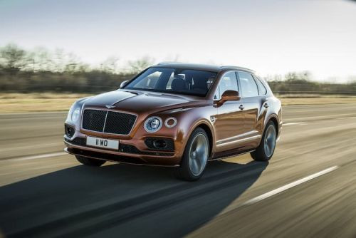 Bentley Bentayga Speed is the fastest SUV in the world