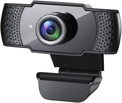 Upgrade Your Zoom Calls With The GESMA 1080p Webcam For Only $25 Today