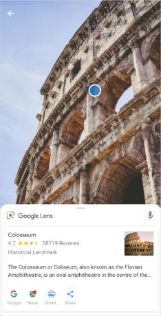 Google Lens features now available within Xperia XZ2 and Xperia XZ2 Compact camera app