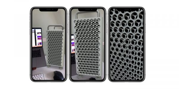 Apple's Mac Pro AR tool is great for making a slick iPhone wallpaper