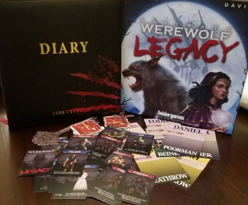 Board game review: Ultimate Werewolf Legacy