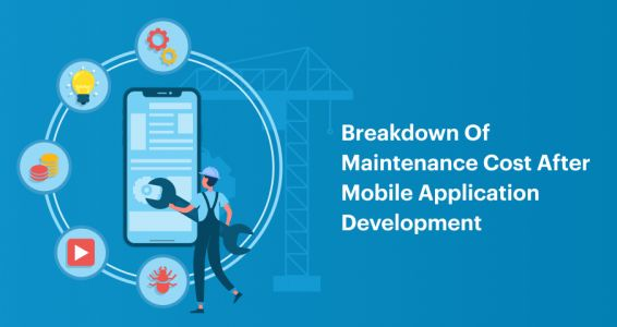 Breakdown of Maintenance Cost after Mobile Application Development