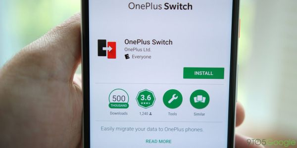 OnePlus Switch application now supports iPhone data transfer
