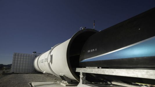 Virgin Hyperloop One: Now faster than regular TGV but no rail speed record