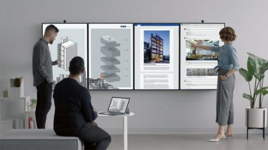 Microsoft's lighter, higher-resolution Surface Hub 2 will ship in 2019