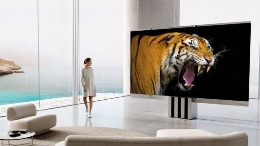The first-ever 165-inch folding MicroLED TV is on sale now - but it's not cheap