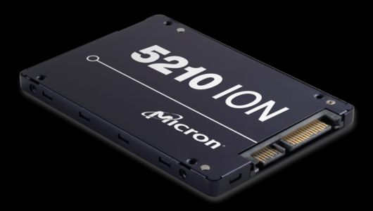 Intel And Micron Launch First QLC NAND: Micron 5210 ION Enterprise SATA SSD