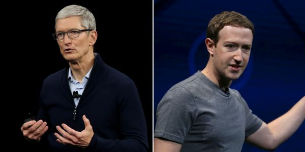 Zuckerberg forced Facebook execs to switch to Android after being 'infuriated' by Tim Cook, report says
