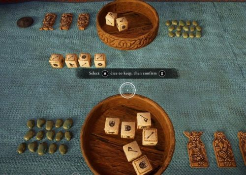 Assassin's Creed Valhalla's Orlog dice game becoming a physical board game