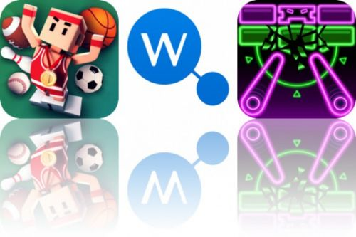 Today's Apps Gone Free: Flick Champions, WikiLinks and Pinball Breaker Forever