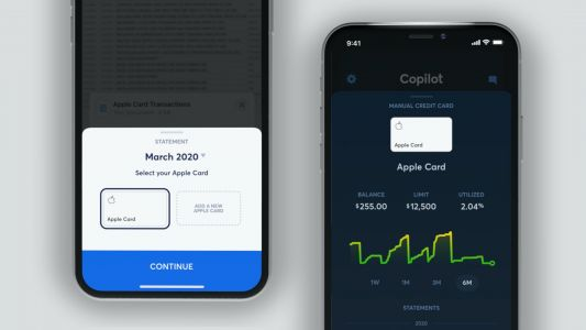 Finance App 'Copilot' Adds Support for Importing Apple Card Statements