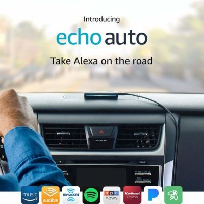 Amazon Brings Alexa On The Road With Echo Auto