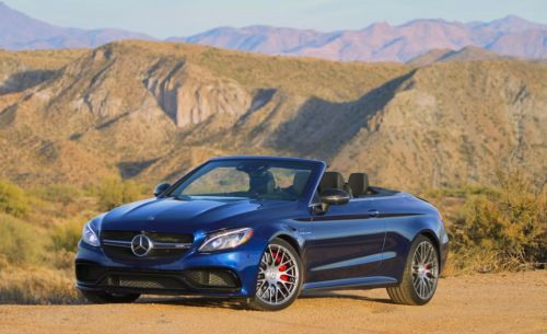The Mercedes-AMG C63 S Cabrio is great on the twisties, bad in town