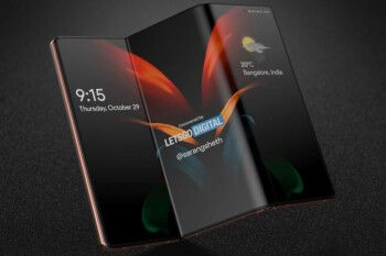Check out this fabulous looking render of what could be the 5G Samsung Galaxy Z Flip 3