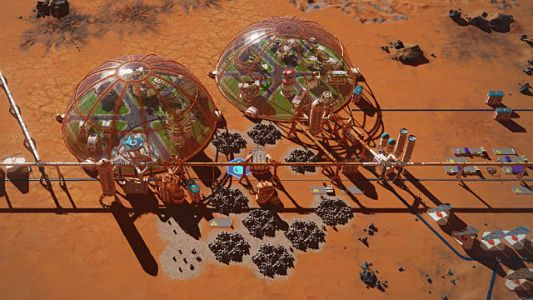 Surviving Mars: Waste Rock & Dealing with The Problem