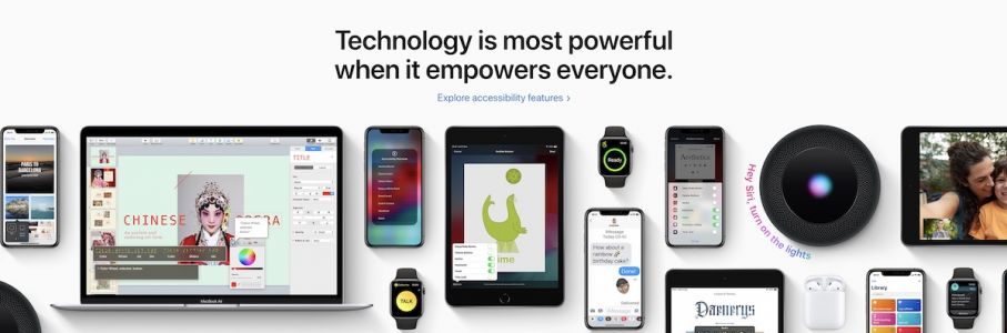 Apple Highlights Global Accessibility Awareness Day With Front-Page Feature