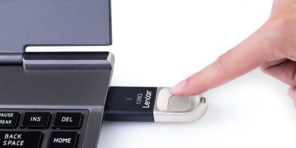 Lexar Launches New JumpDrive Fingerprint USB 3.0 Flash Drive