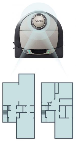 Neato Botvac D7 Connected Can Map Multiple Floors In Your Home