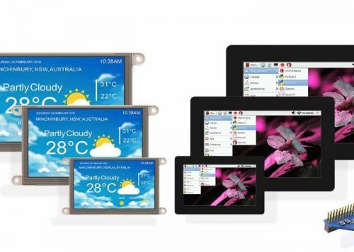 4D Systems Raspberry Pi Displays Unveiled