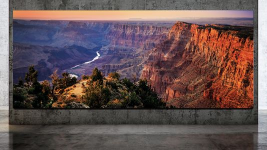 Samsung's epic Wall TV just got a 'luxury' upgrade - now 292-inches and 8K