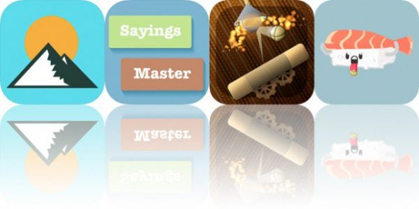 Today's Apps Gone Free: Altimeter GPS, Sayings Builder Master, Anodia and More
