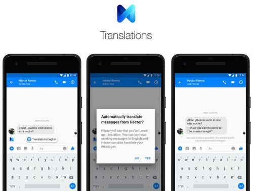 Facebook Messenger Expanding Chat Translation to All Users in United States and Mexico
