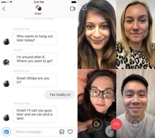 Instagram's Video Call Feature Now Supports Up To 6 People