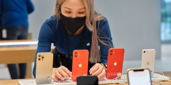 Apple shares official photos as iPhone 12 arrives in stores
