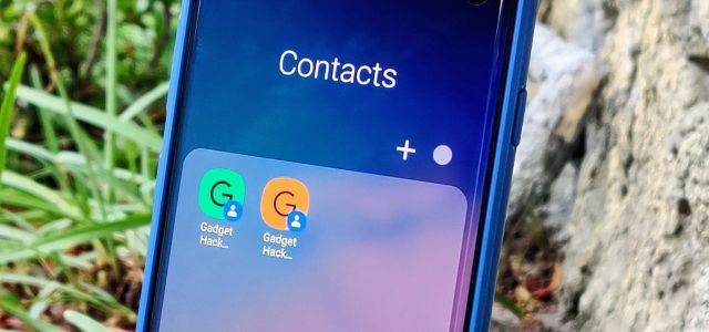 How to Make a Folder with Your Favorite Contacts on Your Android's Home Screen