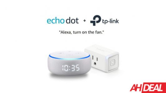 Grab The Echo Dot With Clock & TP-Link Smart Plug Mini For Just $45