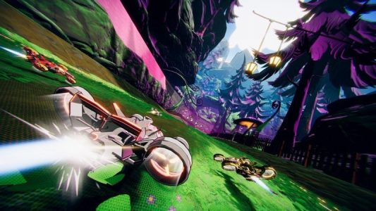 Cell-shaded Apple Arcade racer Warp Drive is now in the App Store