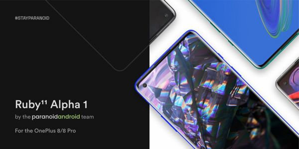Android 11-based Paranoid Android ROMs now available for OnePlus 8 and 8 Pro