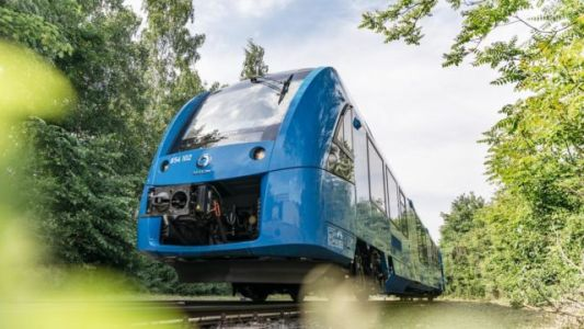 Germany Puts World's First Hydrogen-Powered Trains Into Service