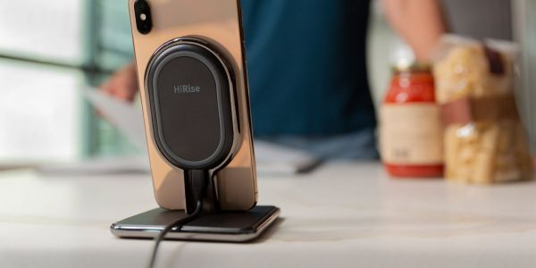 TwelveSouth launches HiRise Wireless stand, features removable Qi charging pad for travel and AirPods charging