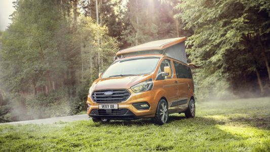 Ford's Nugget offers a step up from traditional camping
