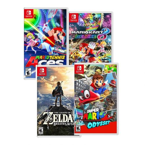 Mario and Zelda Nintendo Switch games are down to $45 each today