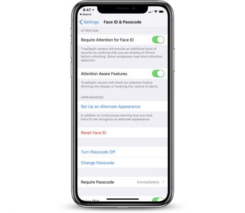 IOS 12 Allows for Multiple Face ID Users on a Single iPhone X