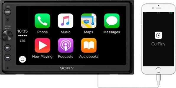 Grab Sony's CarPlay and Android Auto head unit for just under $300 today
