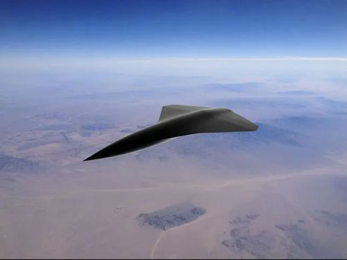Unmanned Combat Drone Hits Crazy Speeds Of Over 1,500mph