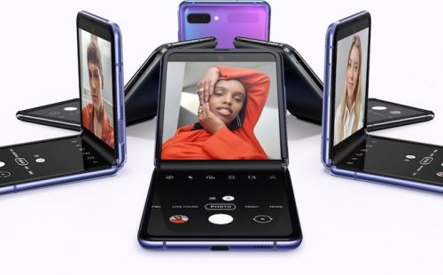 Samsung Announces The Galaxy Z Flip: Foldable Phone With Glass