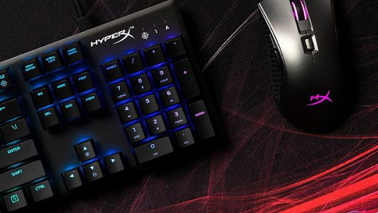 HyperX's Alloy FPS RGB Mechanical Keyboard Is Bright, Light, And Compact